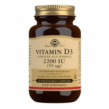 Vitamín D3 2200 IU 50 tbl